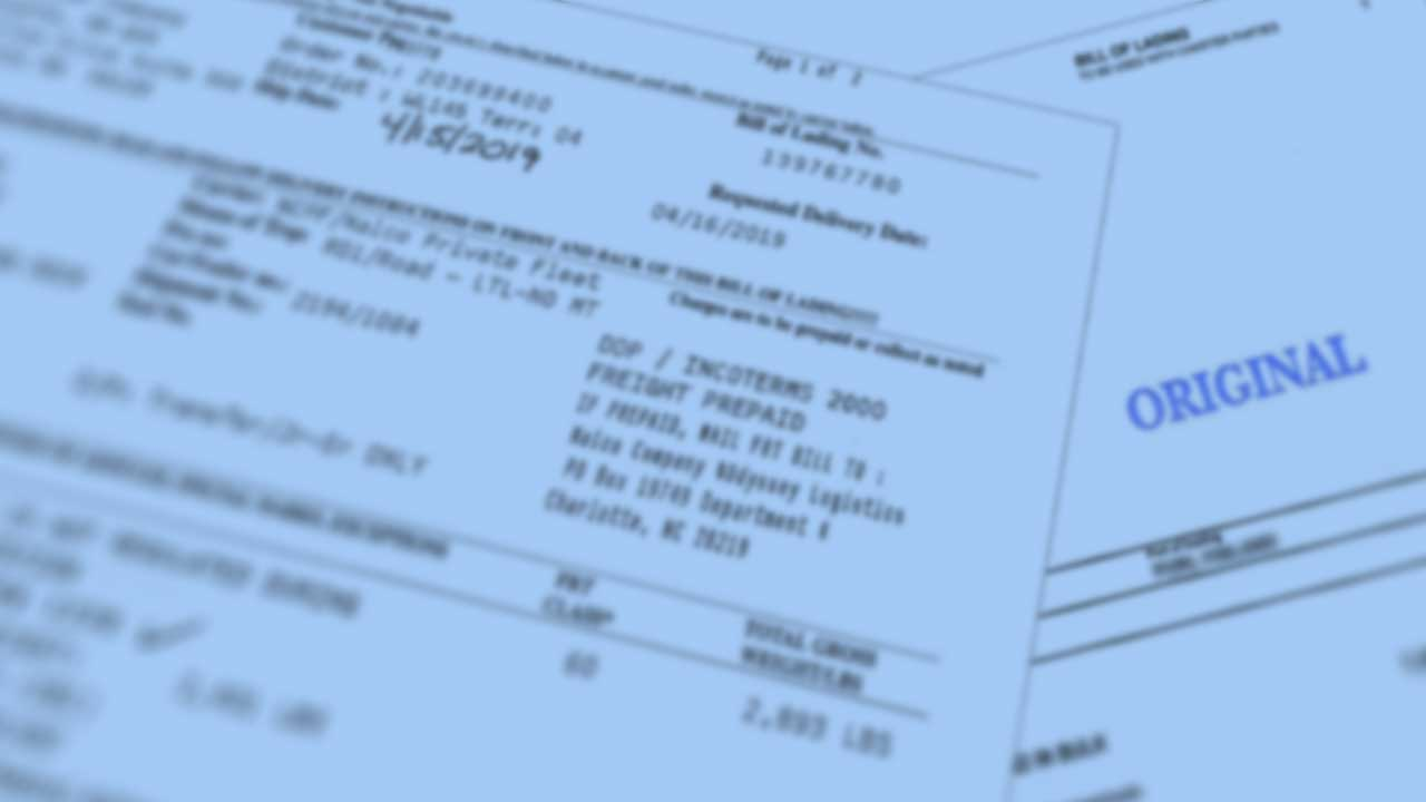 Why Is A Bill Of Lading So Important?