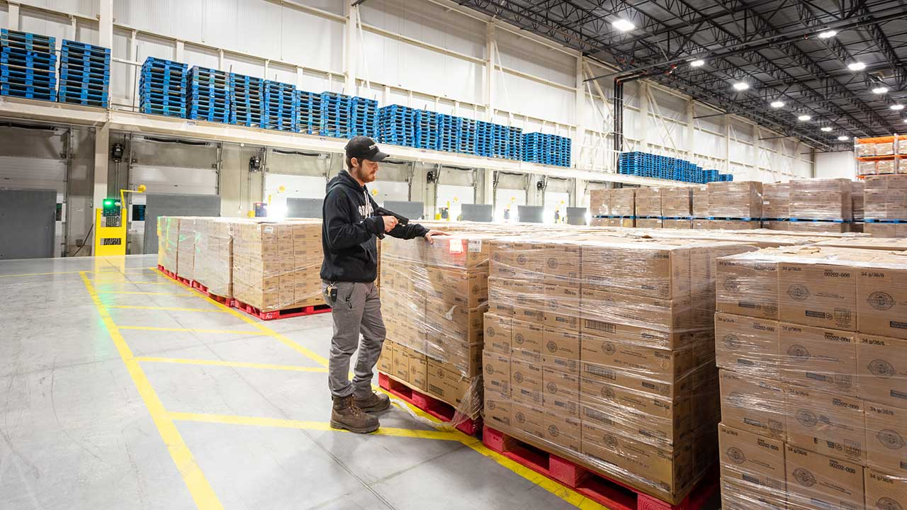 Reduce and recycle the waste produced in your warehouse
